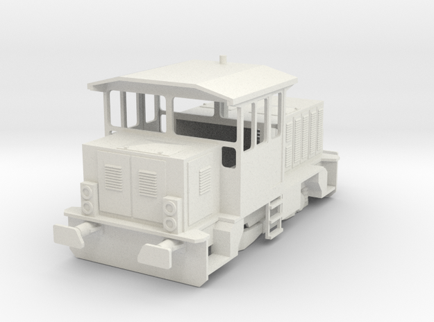 CSD 704 H0 Scale in White Natural Versatile Plastic
