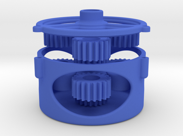 Updated Orbital Gear Box 3d printed