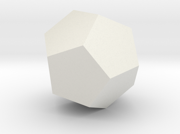 test dodecahedron 3d printed