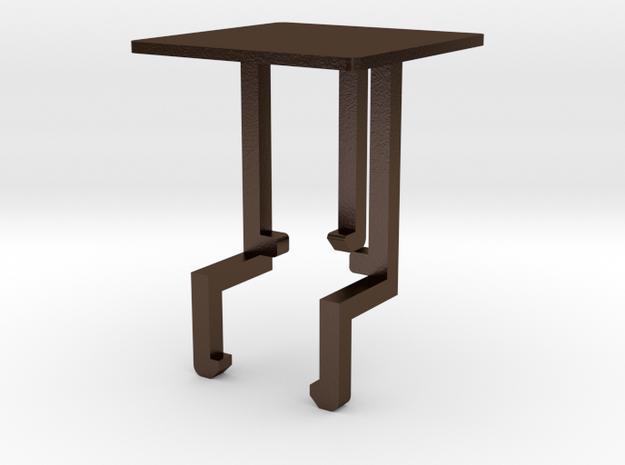 {Lighter Branding} Customization in Polished Bronze Steel