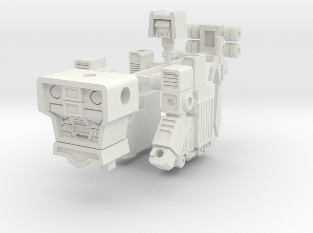 Motor Commander in White Natural Versatile Plastic