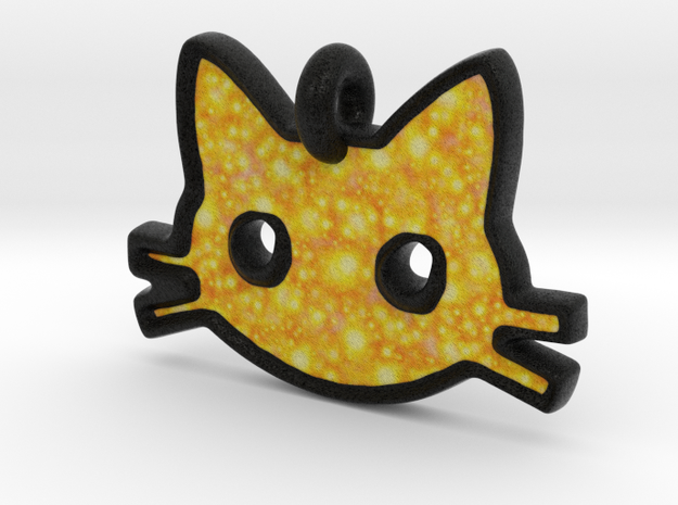Sparkle Cat in Full Color Sandstone