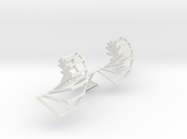 Onion Stairs 3d printed