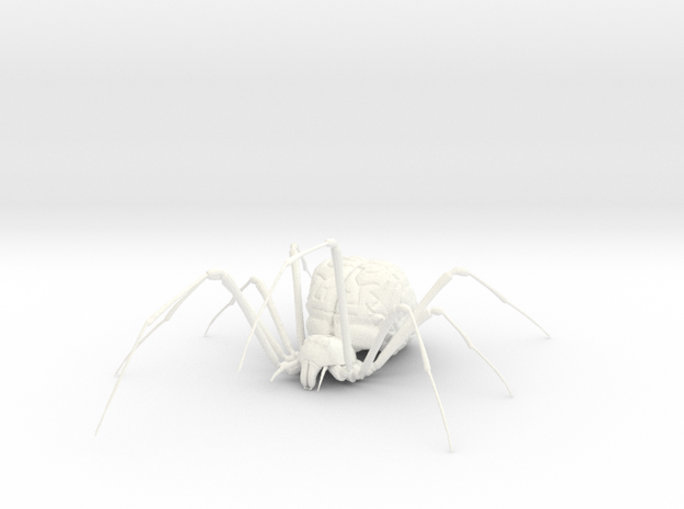 The Brain Widow 3d printed