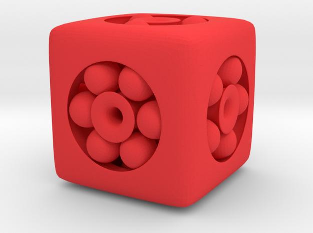 Ball Bearing 6-Sided Die 3d printed