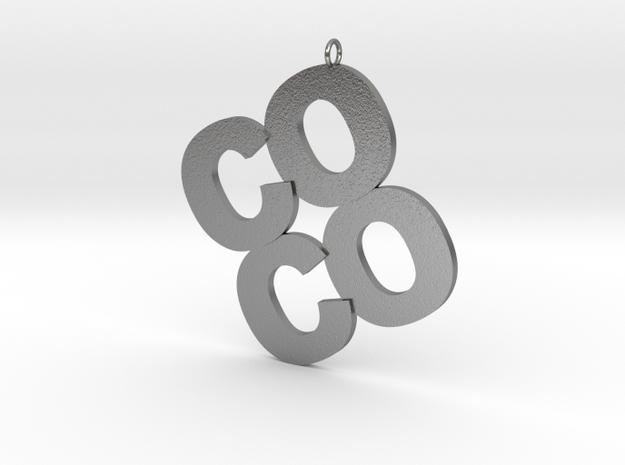 COCO in Natural Silver