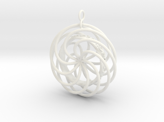 Give Love Get Love moving Pendant 3d printed First image