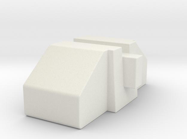 Superion Filler 1 in White Natural Versatile Plastic