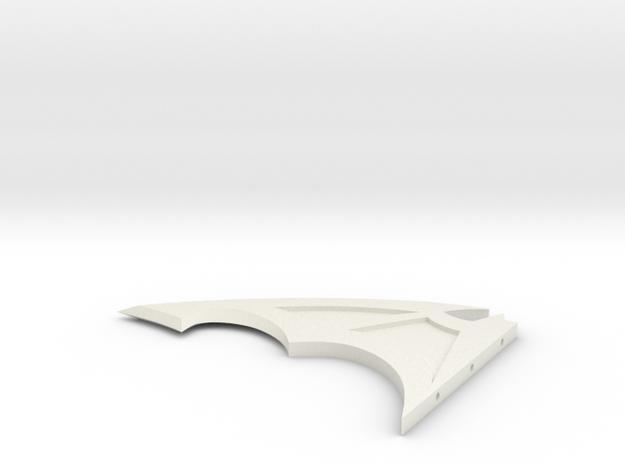 batarang in White Natural Versatile Plastic