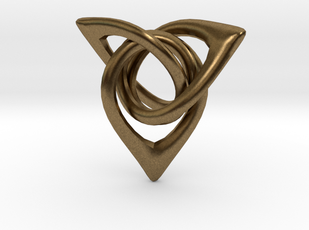 Triangle Loops 3d printed