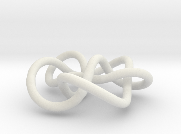 Prime Knot 7.7 in White Strong & Flexible