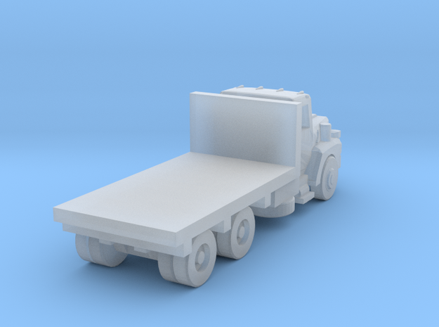 Mack Flatbed Truck - Open Cab - Z scale in Smooth Fine Detail Plastic