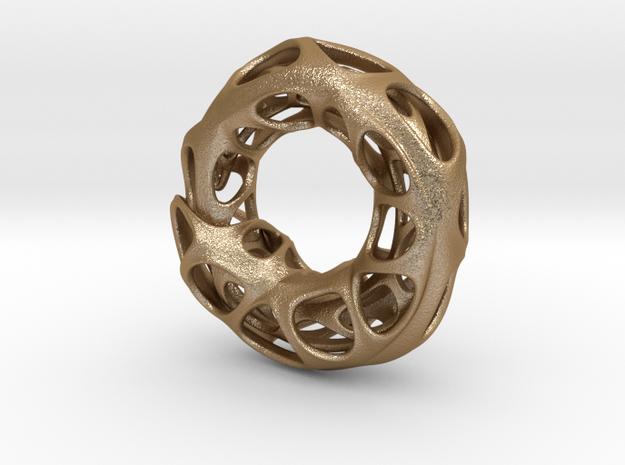 Ouroboros Pendant (M) 3d printed