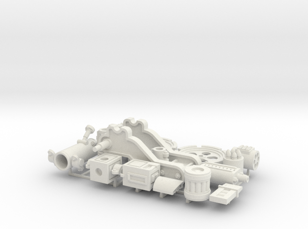W4K10 MK4 Gun Kit in White Natural Versatile Plastic