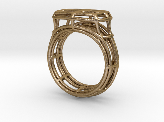 Simple Wire Signet 3d printed