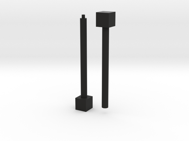 1x1x∞ (Print 1) 3d printed