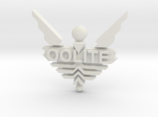 Oolite Pin (one inch) 3d printed