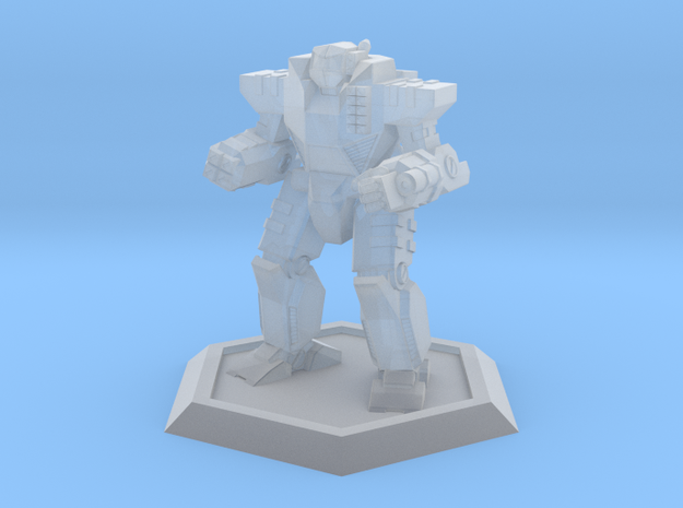 Mecha- Odyssey- Achilles (1/500th) in Smooth Fine Detail Plastic