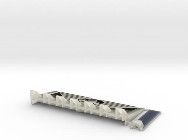 W4K15 Fleur Dozerblade in Transparent Acrylic