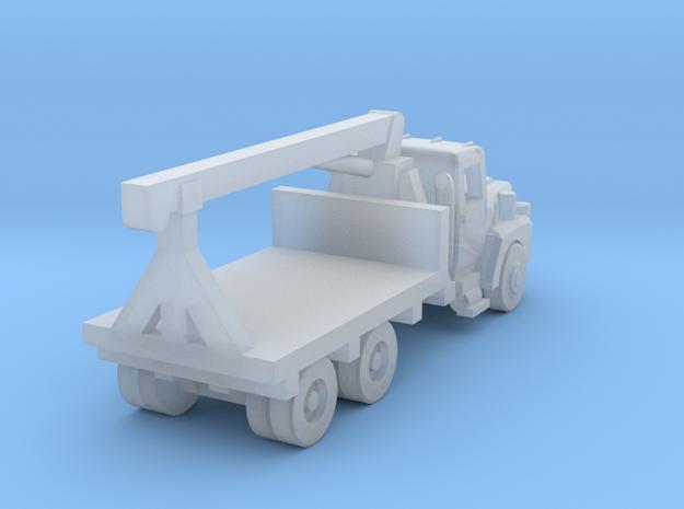 Mack Crane Truck - Open Cab - Z scale  in Smooth Fine Detail Plastic