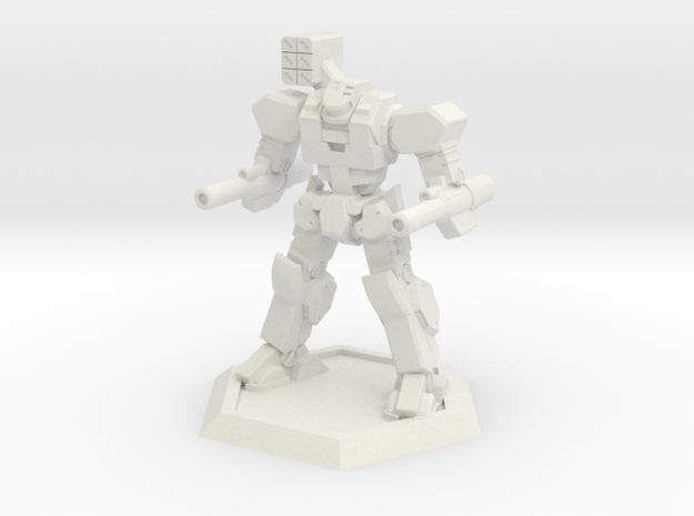 Mecha- Axe (1/500th) in White Strong & Flexible