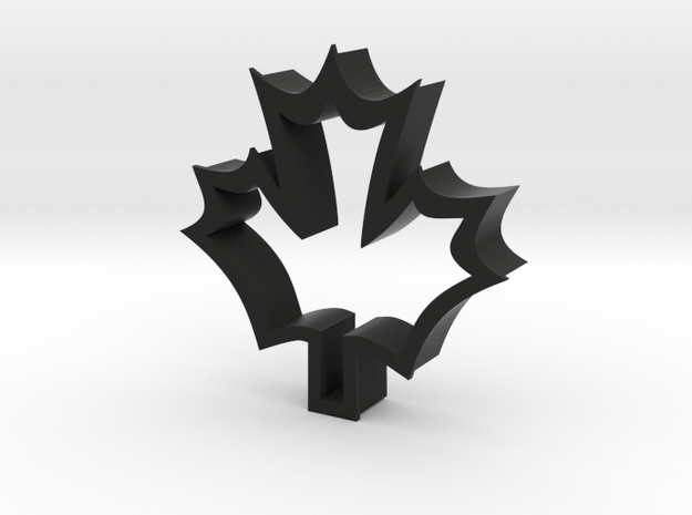 Maple Leaf shaped cookie cuttere 3d printed