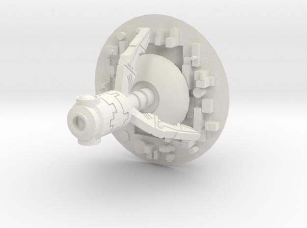 Shield Hover Drone in White Natural Versatile Plastic