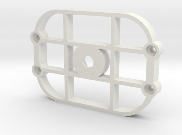 TriK Tripod Adapter in White Natural Versatile Plastic