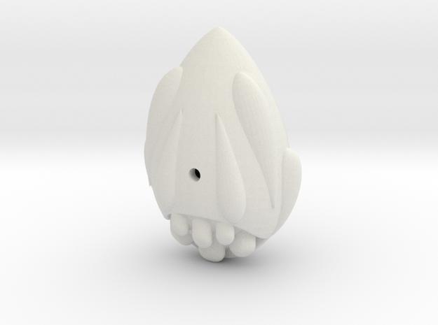 Easteregg Dunker in White Natural Versatile Plastic