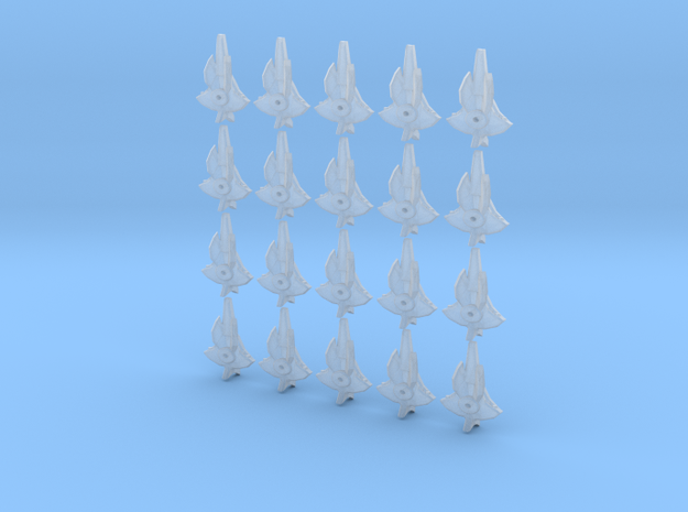 viperray fleet scale in Smooth Fine Detail Plastic