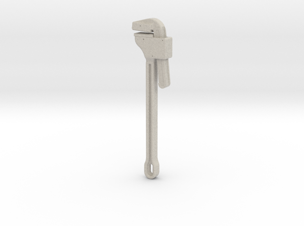 Pipe Wrench 3d printed