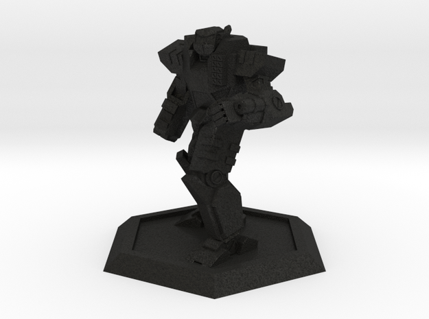 Mecha- Odyssey- Achilles Pose 2 (1/500th) 3d printed