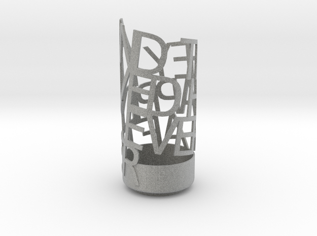 Light Poem Metal 3d printed