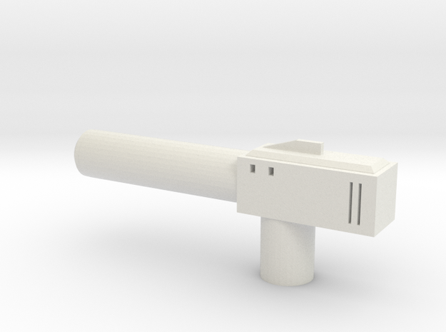 Sunlink - Barrel Gun in White Natural Versatile Plastic