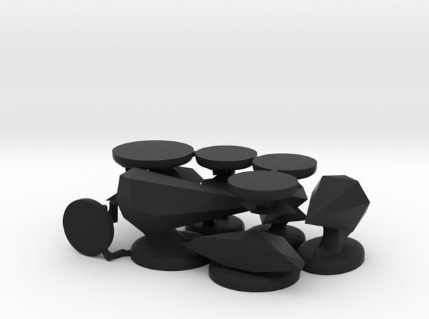 Upscaled Oolite miniatures 3d printed