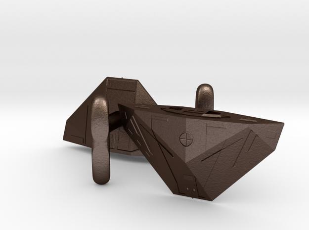 Cobra Mk 3 Cufflinks 3d printed