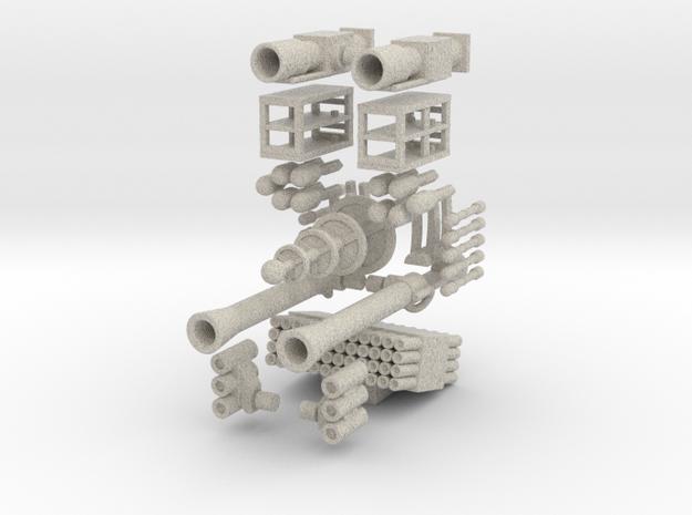 Tank Walker- Weapons Pack- Allies (1/56th) 3d printed