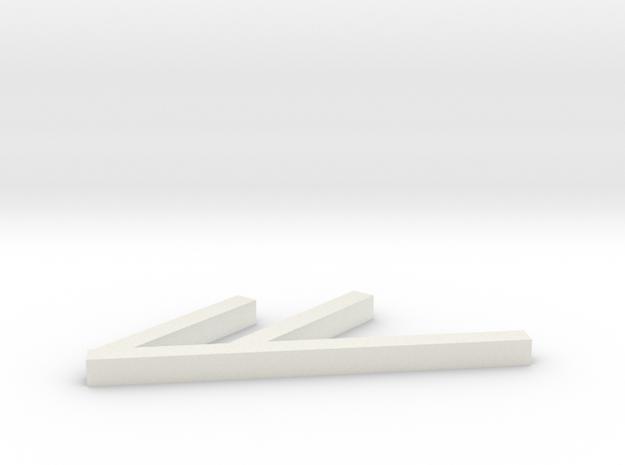 Nook Color stand in White Natural Versatile Plastic
