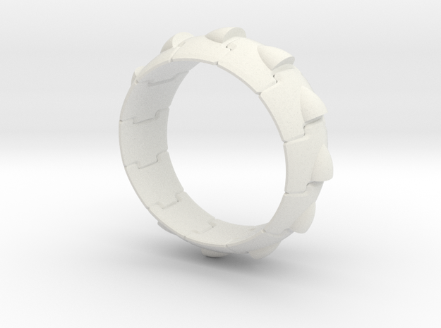 Armor Ring (Simple style) 3d printed