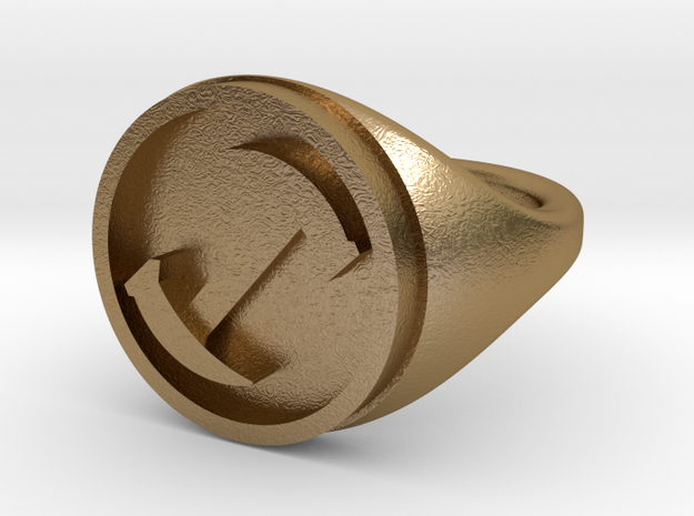 Simpsons Stonecutters ring size 10 3d printed