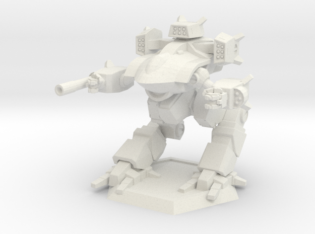 Mecha- Guardian II (1/285th) in White Strong & Flexible