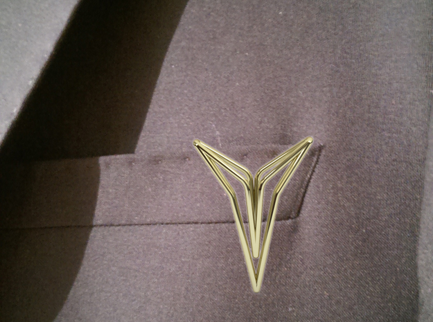 SuitStar YOUNIVERSAL, Accessoire in 18k Gold Plated Brass
