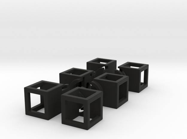 Hollow 1x2x3 3d printed