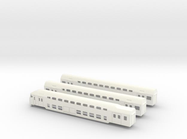 DD-AR set (1:220) in White Processed Versatile Plastic