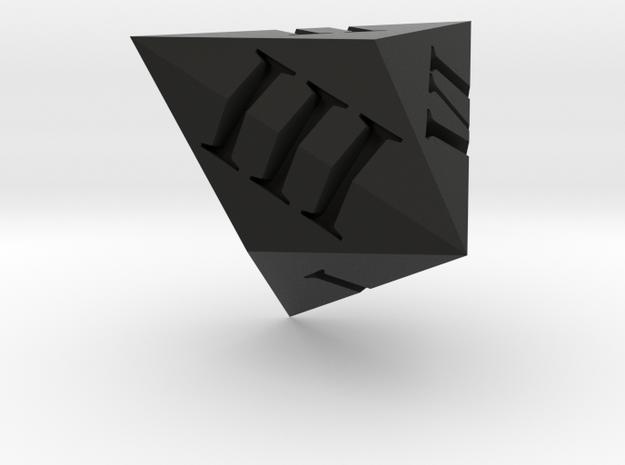 Triakis dice (Roman) 3d printed