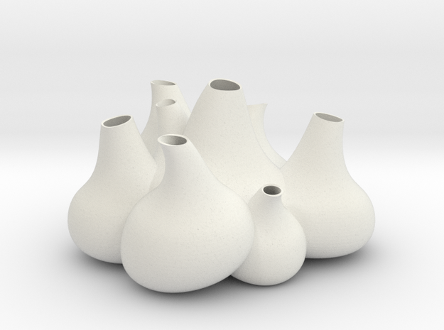 NLpro Flower bulbs groupe(0.8mm) 3d printed