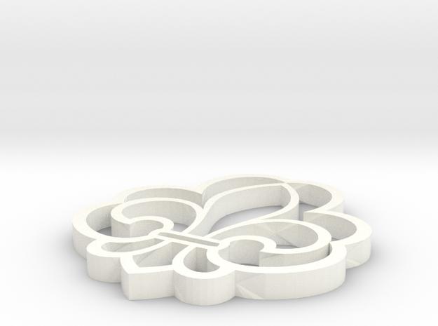 Spejderlilje 3d printed