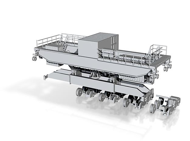 Gantry crane elements 3d printed