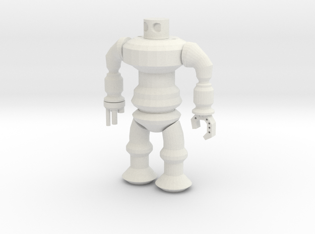 Robotspline The Revenge in White Natural Versatile Plastic