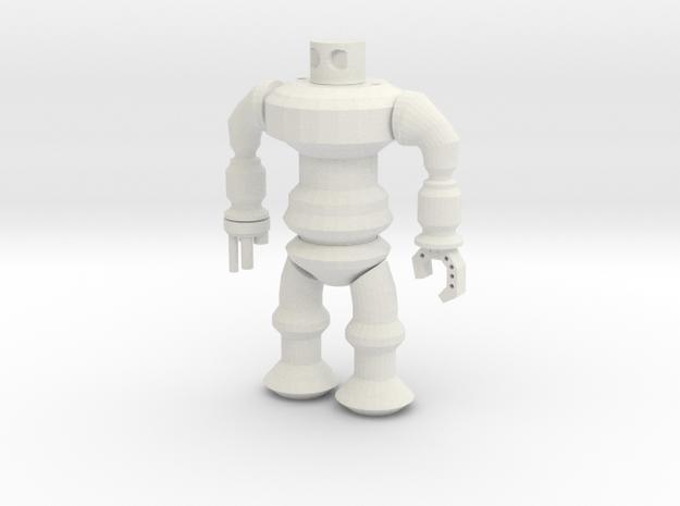 Robotspline The Revenge in White Natural Versatile Plastic